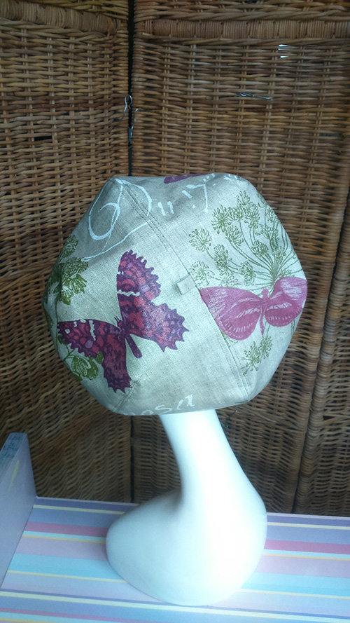Beret de pluie motif papillon Mary Colibri