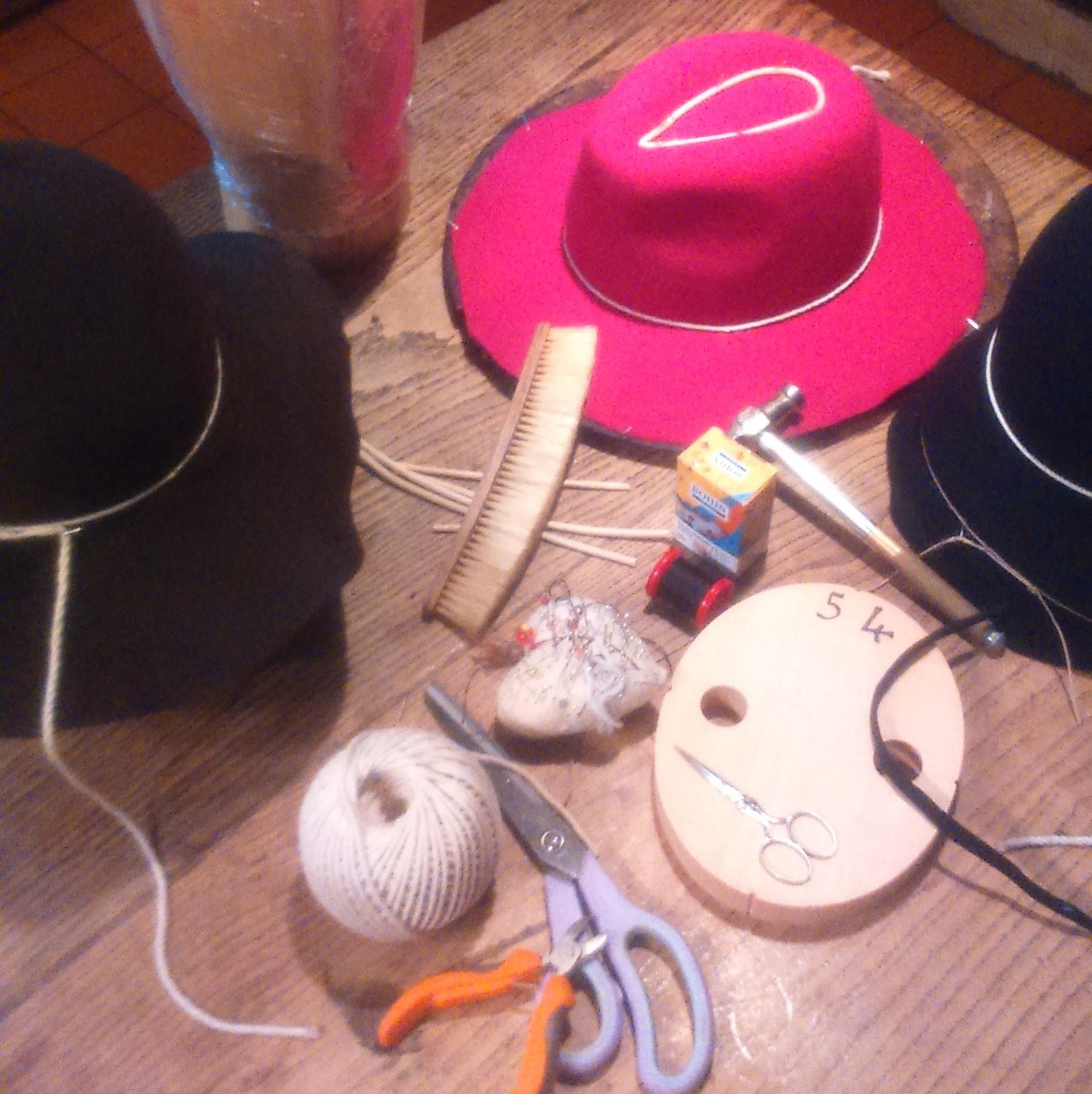 les outils de Mary Colibri