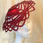 chapeau cérémonie rouge mary colibri