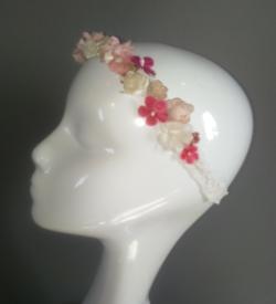 head-band fleuri