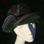 chapeau cloche feutre Mary Colibri