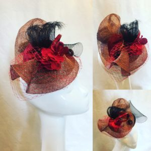 fascinator création mary colibri
