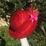 capeline rouge cerise Mary Colibri