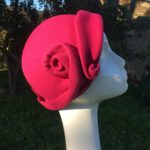 chapeau feutre fuchsia Mary Colibri