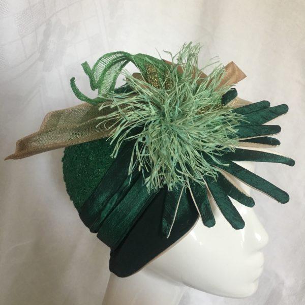 chapeau vert Mary Colibri