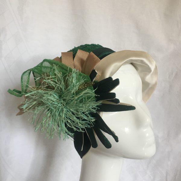 chapeau vert années 20
