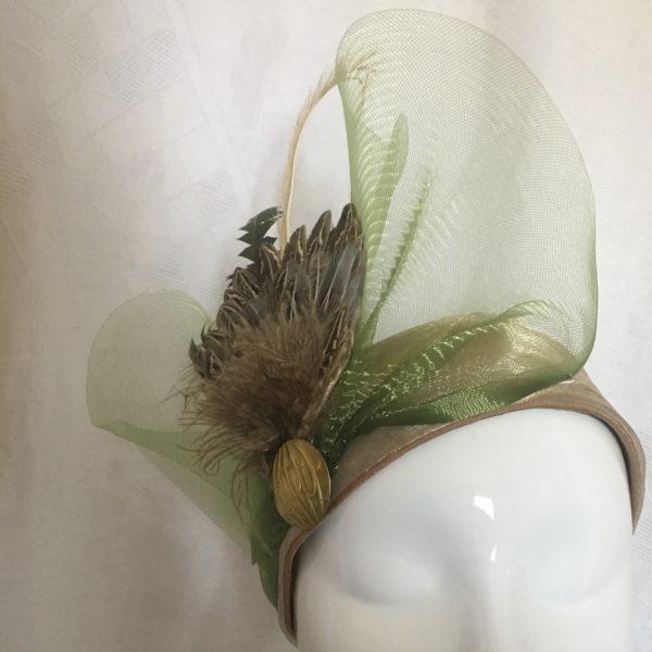 turban années 20 Mary Colibri