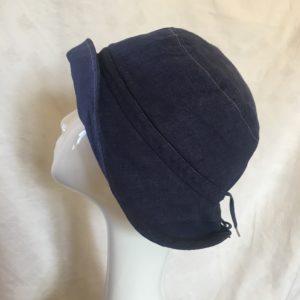 chapeau en lin réglable Mary Colibri