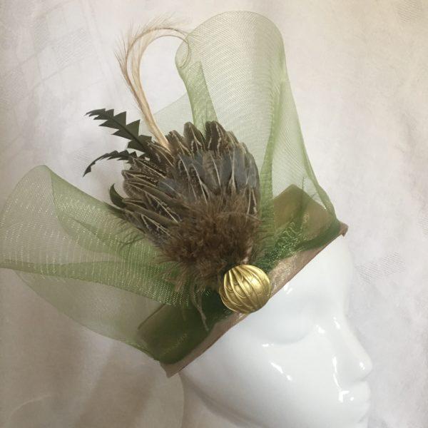 turban style Gatsby Mary Colibri