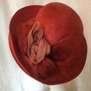 capeline rouge Mary Colibri